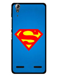 Snooky Designer Print Hard Back Case Cover For Lenovo A6000 - Blue