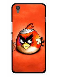 Snooky Designer Print Hard Back Case Cover For OnePlus X - Orange