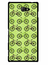 Snooky Designer Print Hard Back Case Cover For Sony Xperia M2 - Cream