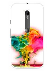 Snooky Designer Print Hard Back Case Cover For Motorola Moto G (Gen 3) - Multicolour
