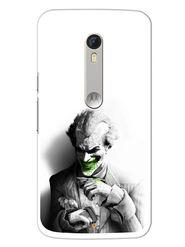 Snooky Designer Print Hard Back Case Cover For Motorola Moto X Play - Grey