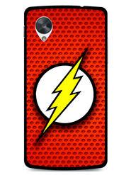 Snooky Designer Print Hard Back Case Cover For LG Google Nexus 5 - Red