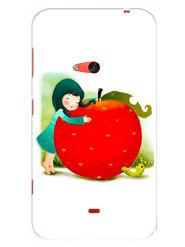Snooky Designer Print Hard Back Case Cover For Nokia Lumia 625 - Multicolour