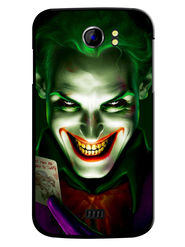 Snooky Designer Print Hard Back Case Cover For Micromax Canvas 2 A110 - Green