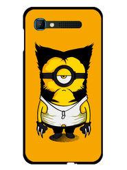 Snooky Designer Print Hard Back Case Cover For Intex Aqua Y2 pro - Yellow