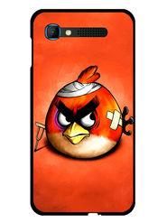 Snooky Designer Print Hard Back Case Cover For Intex Aqua Y2 pro - Orange