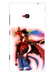 Snooky Designer Print Hard Back Case Cover For Nokia Lumia 720 - Multicolour