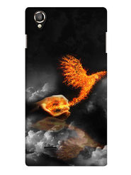 Snooky Digital Print Hard Back Case Cover For Lava Iris 800 - Black