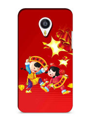 Snooky Digital Print Hard Back Case Cover For Meizu MX4 - Mehroon