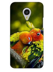 Snooky Digital Print Hard Back Case Cover For Meizu MX4 Pro - Green