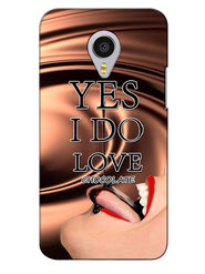 Snooky Digital Print Hard Back Case Cover For Meizu MX4 Pro - Brown