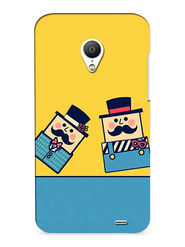 Snooky Digital Print Hard Back Case Cover For Meizu MX3 - Yellow