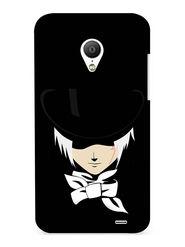 Snooky Digital Print Hard Back Case Cover For Meizu MX3 - Black
