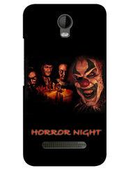 Snooky Digital Print Hard Back Case Cover For Micromax Bolt Q335 - Black