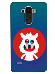 Snooky Digital Print Hard Back Case Cover For LG G4 Stylus - Blue