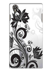 Snooky Digital Print Hard Back Case Cover For Lava Iris 800 - White