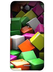 Snooky Digital Print Hard Back Case Cover For InFocus M530 - Multicolour