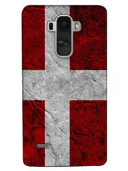 Snooky Digital Print Hard Back Case Cover For LG G4 Stylus - Red