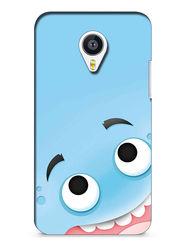 Snooky Digital Print Hard Back Case Cover For Meizu MX4 - skyBlue