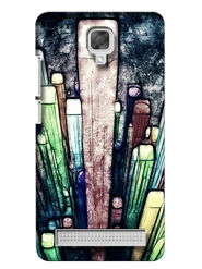 Snooky Digital Print Hard Back Case Cover For Micromax Bolt Q331 - Multicolour