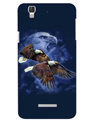 Snooky Digital Print Hard Back Case Cover For Coolpad Dazen F2 - Blue