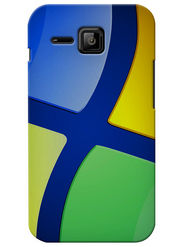 Snooky Digital Print Hard Back Case Cover For Micromax Bolt S301 - Multicolor