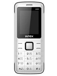 Intex Eco 205 Dual Sim Phone - White & Black