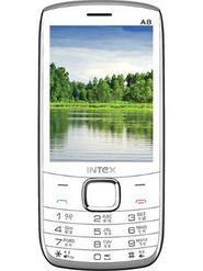 Intex Turbo A8 3.2 Inch Dual Sim Phone - Black