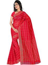 Adah Fashions Red South Silk Saree -888-118