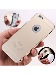 Aeoss 2 in 1 Aluminum Metal Frame Back Bumper Case Cover For iPhone 6s - Golden