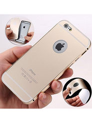 Aeoss 2 in 1 Aluminum Metal Frame Back Bumper Case Cover For iPhone 6s Plus - Golden