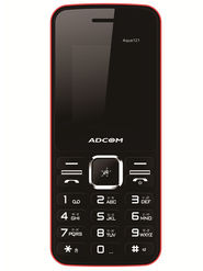 ADCOM  121 Black & Red