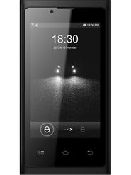 BQ E1 3.5 Inch WVGA IPS/Kitkat 4.4.2/3G/Dual Sim Mobile- Black