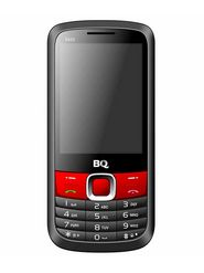 BQ S620 - Black & Red 2.8 Inch Display With Super Long Battery, Dual Sim Mobile