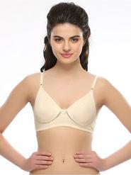 Clovia Polyster Cotton Solid Bra -BR0244P24