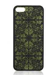Case-Gear Iconic Art On Green Back Cover For IPhone 5 And 5S