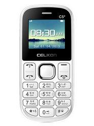 Celkon C5 Star Dual Sim Mobile Phone - Black & Red