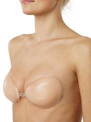 Clovia Blended Plain Bra - Nude