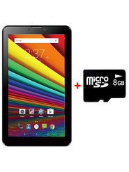 I KALL N9 Dual SIM Tablet (Black) With Calling Accessories Combo (MemoryCard)