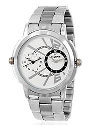 Dezine Wrist Watch for Men - White_DZ-GR090-WHT-CH