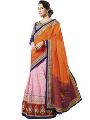 Zoom Fabrics Georgette Embroidered Saree -E701