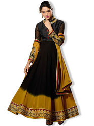 Fabfiza Embroidered Georgette Semi Stitched Anarkali Suit_FBZS-502