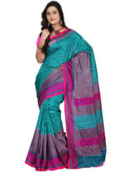 Florence Bhagalpuri silk Printed  Sarees FL-10950