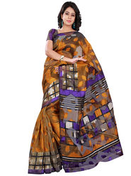 Florence Bhagalpuri silk Printed  Sarees FL-10980-C