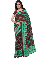 Florence Printed Faux Georgette Sarees -FL-11224