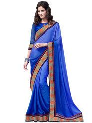 Bahubali Crepe Jacquard Embroidery Saree -GA20021
