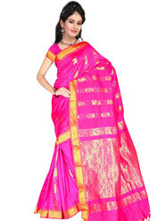 South Silk Handloom Saree -Gkss 1002