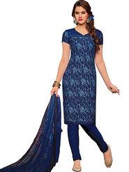 Khushali Fashion Crepe Printed Dress Material -Hnyfdzl35004