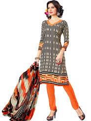 Khushali Fashion Crepe Printed Dress Material -Hnyfdzl35009