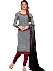 Khushali Fashion Crepe Printed Dress Material -Hnyfdzl35014